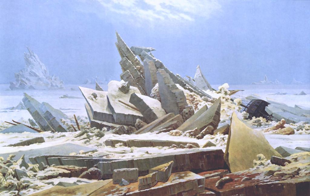 Caspar David Friedrich Ishavet