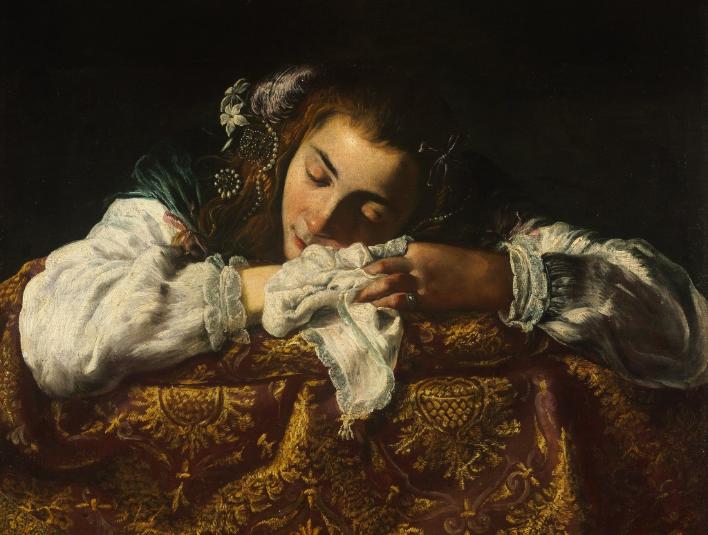 Domenico_Fetti_-_Sleeping_Girl_-_Google_Art_Project