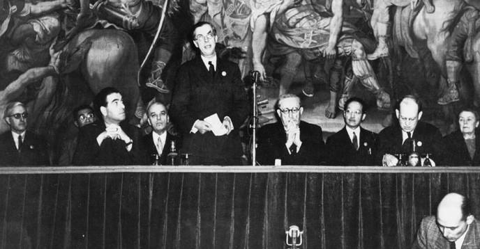 UNESCOs første generalforsamling. FOTO: © UNESCO.