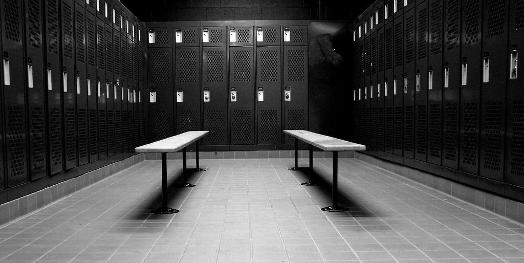 Omklædningsrummet. Rettigheder: Flattop/Flickr
