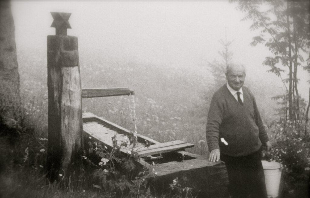 Martin Heidegger. Foto: Renaud Camus/Flickr