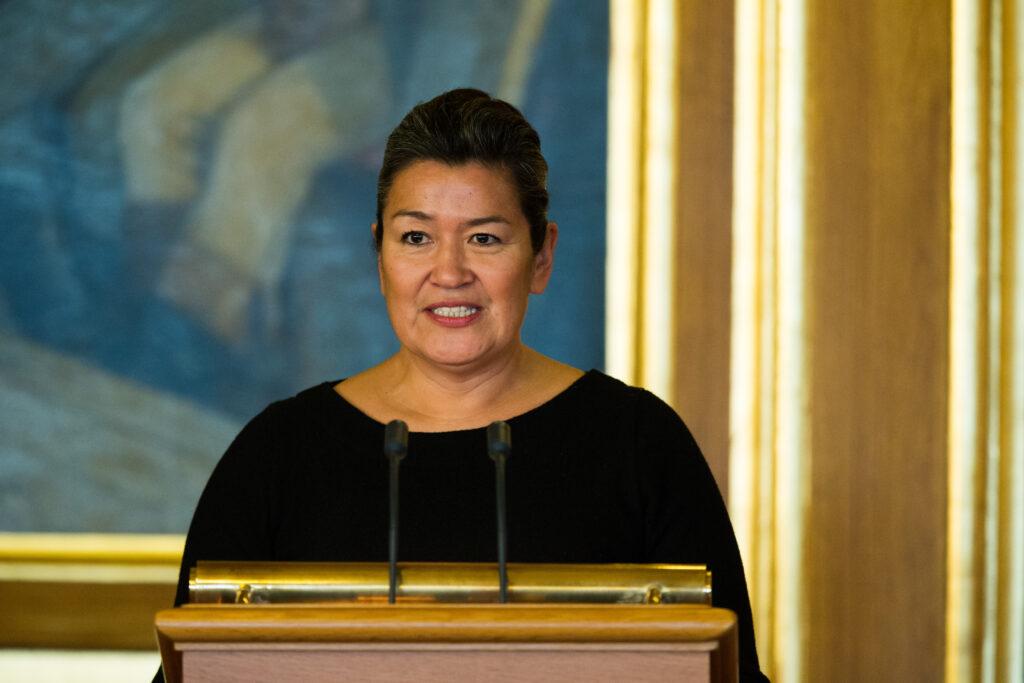Grønlands landsstyreformand Aleqa Hammond