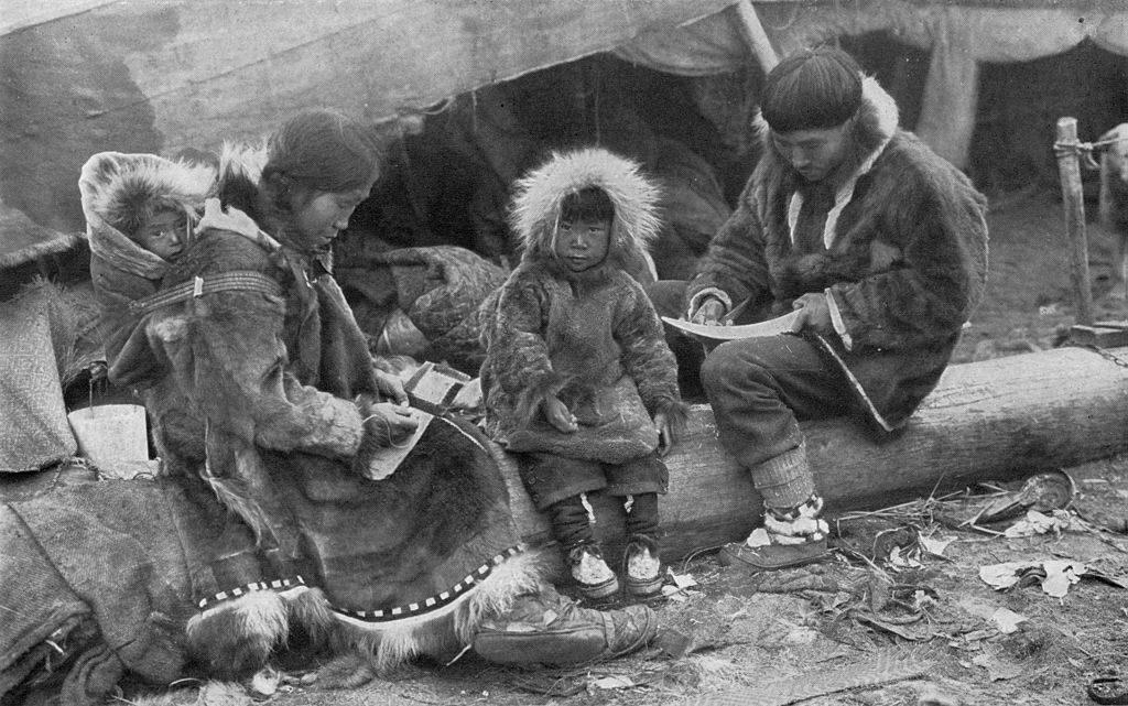 Grønlandsk familie