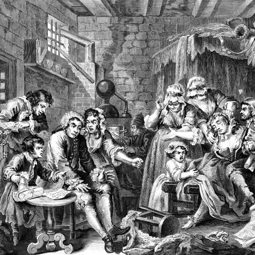 Gældsfængsel, 1735